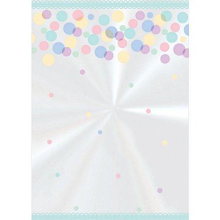 Saco decorado Petit-Colors 10x14cm c/ 50 unidades - Cromus