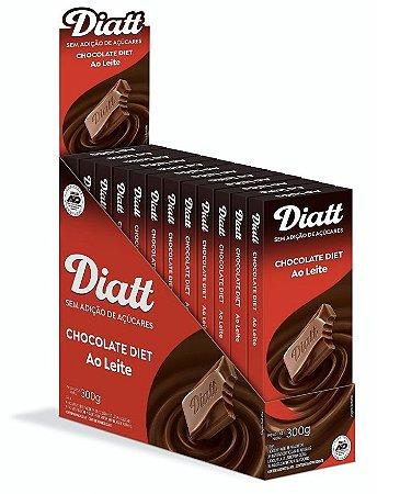 Chocolate ao leite diet 12x25g - Diatt