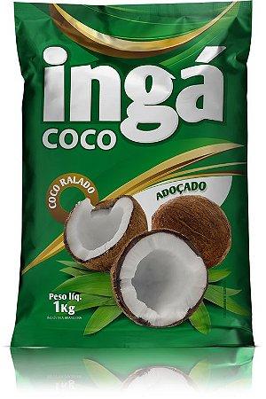 Coco ralado adoçado 1kg - Ingá