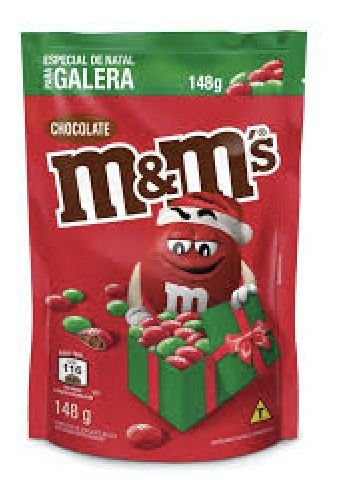 Chocolate M&M Edição Natal 148g - Mars