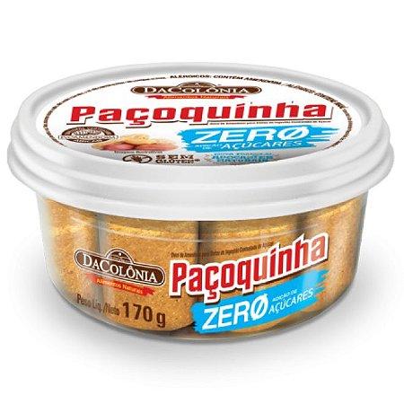 Paçoca Rolha Zero Açúcar 170g - Dacolonia