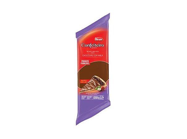 Recheio para Pizza sabor Chocolate com Avelã Confeiteiro 1,050 kg - Harald