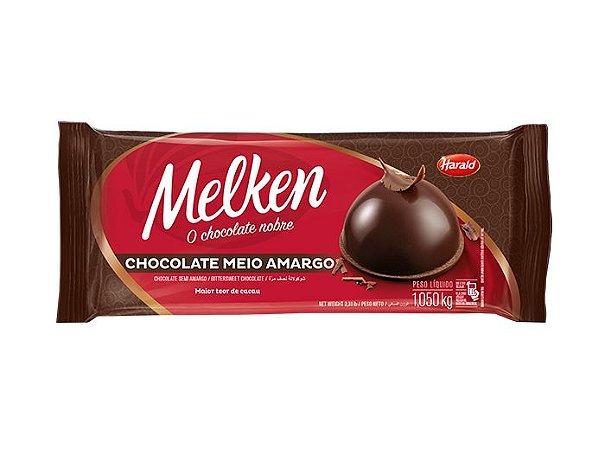 Chocolate Melken Meio Amargo Barra 1,050 kg - Harald