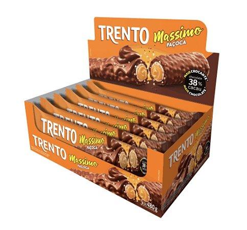 Chocolate Trento Massimo Paçoca Com 16 Un - Peccin