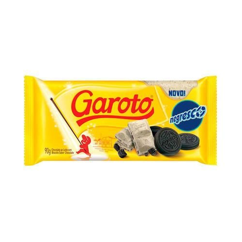 Chocolate Branco Garoto Negresco 90g