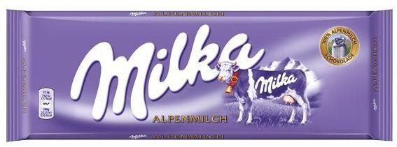 Chocolate ao leite Alpine Milk 270g - Milka