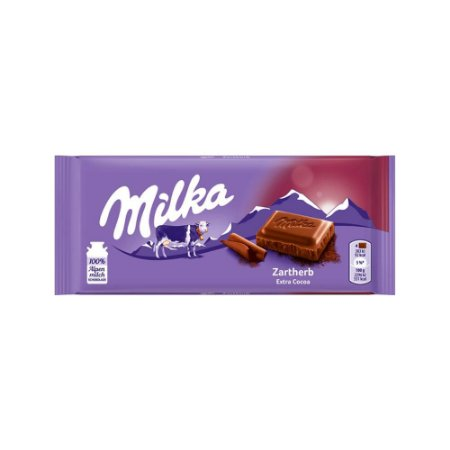 Chocolate extra dark cocoa 100g - Milka