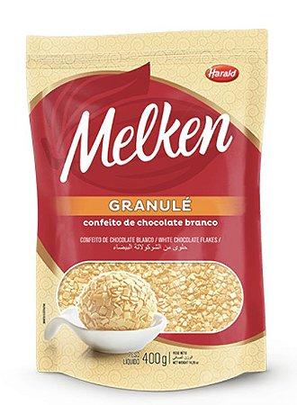 Granulé Confeito de Chocolate Branco Melken 400 g