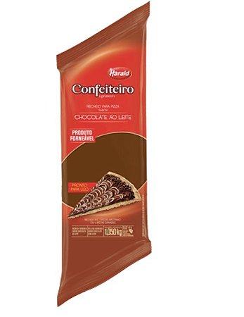 Recheio para Pizza sabor Chocolate ao Leite Confeiteiro 1,050 kg - Harald