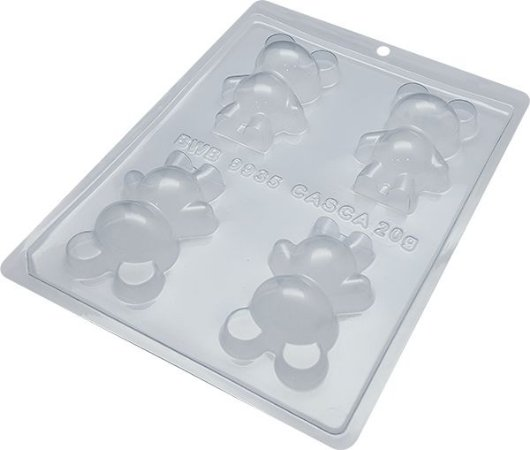 Forma Especial Com Silicone Urso Pequeno (cód. 9935) - Bwb