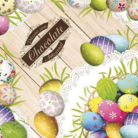 Envelope para ovos chocolate artesanal 35x35cm 25 unidades - Cromus