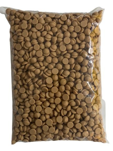Chocolate Belga Gold Caramelo 30,4% Callebaut Moedas 1Kg - Callebaut