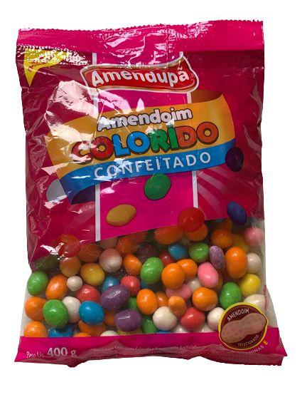 Amendoim Colorido Confeitado 400g - Amendupã