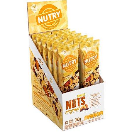Barra De Nuts Original com 12 unidades - Nutry