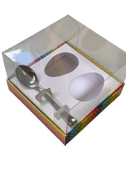 Caixa Diversidade 2 ovos de 50g  pacote c/10 unidades - Curifest