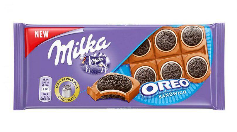 Chocolate Milka Oreo Sandwich 100g - Milka