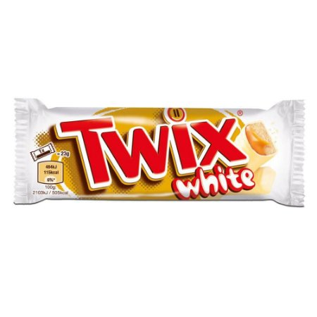 Chocolate Twix White Importado 46g - Mars