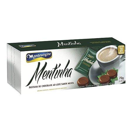Mentinha Chocolate ao Leite 70g - Montevergine