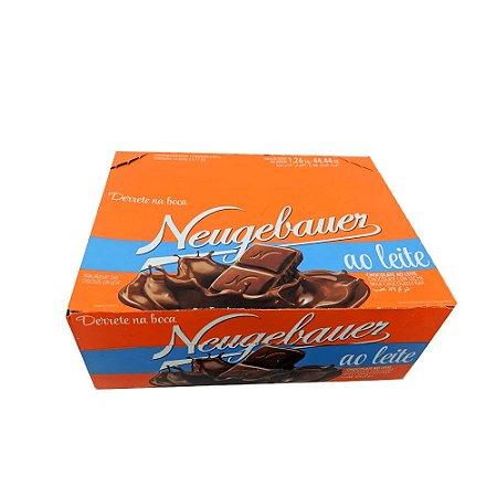 Caixa Barra Chocolate Ao Leite c/14 unidades de 90g Cada - Neugebauer