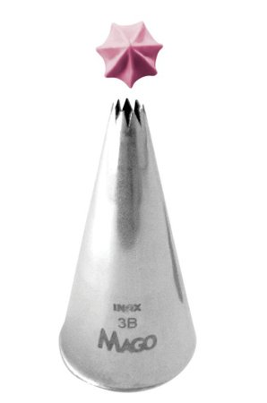 Bico De Confeitar Grande Inox Pitanga 3B (cod.6429) - Mago