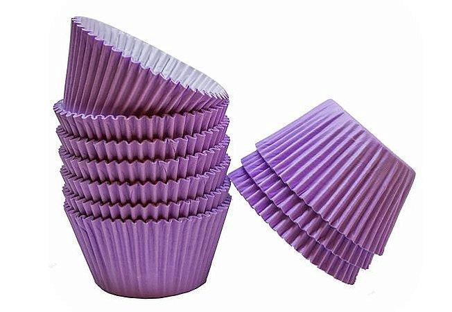 Forma Cup Cake Lilás Claro N°0A com 100 unidades - Reiki