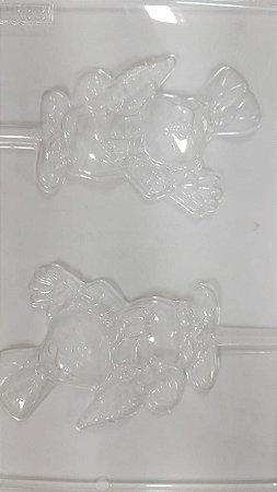 Forma de acetato pirulito coelho (Ref. 83) - freebox