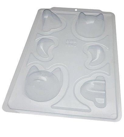 Forma Especial De Silicone Raposa 3D - BWB