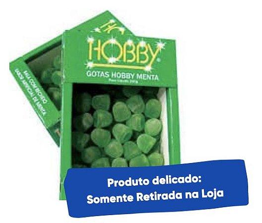Gotas com recheio de Menta 200g - Hobby