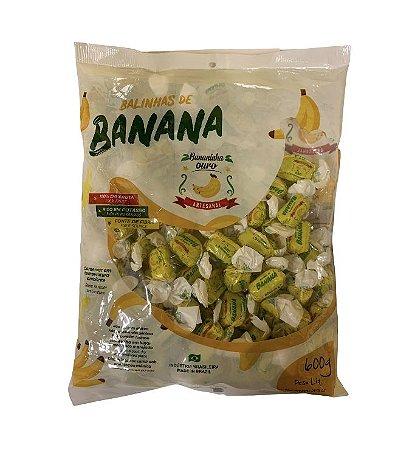 Bala De Banana Cremosa 600G-Bananinha Ouro