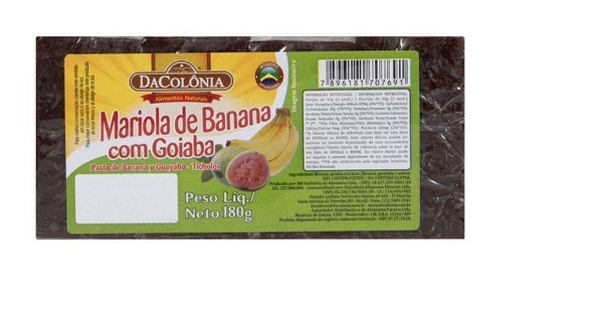 Mariola de Banana com Goiabada 180g - Da Colônia