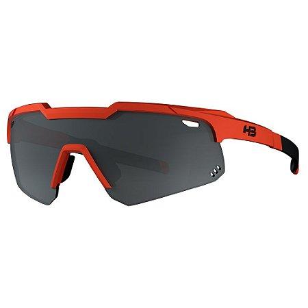 Óculos HB Shield Evo Mountain Matte Orange Silver