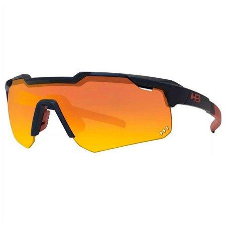 Óculos HB Shield Evo Mountain Matte Navy Multi Red