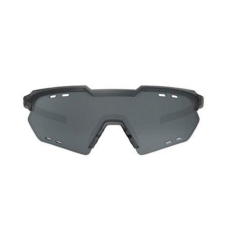 Óculos Hb Shield Compact Road Matte Onyx Silver