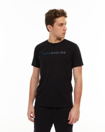 Camiseta Masculina Roadcycling Preto - Sense