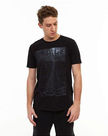 Camiseta MTB Marks Adulto & Grom Preto - Sense