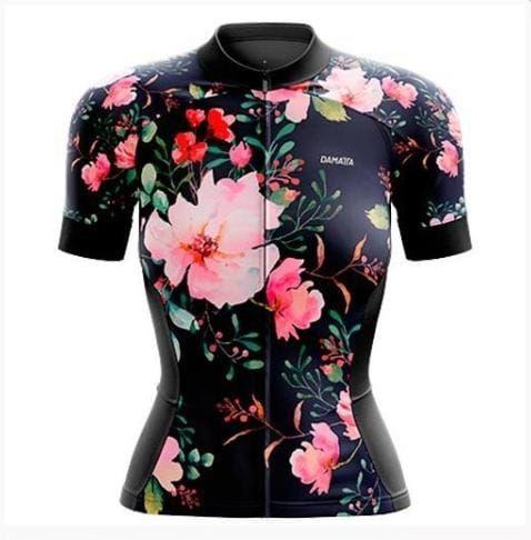 Camisa Bike Flower - Damatta