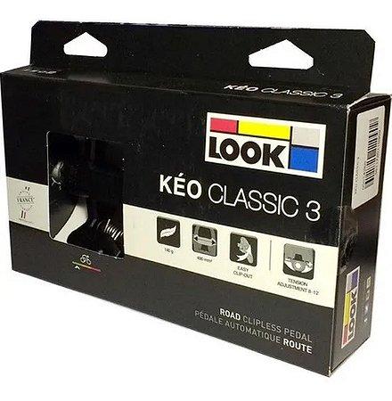 Pedal Look Keo Classic 3 Preto