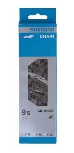 Corrente CN-HG53 114L 9v - Shimano