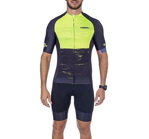 Camisa Ciclismo Supreme Califórnia Masculino - Woom