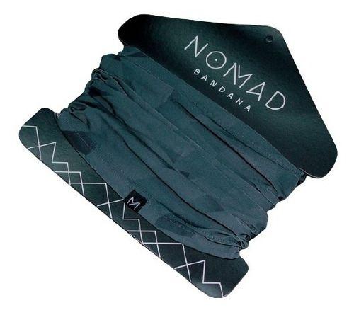 Bandana Classic Verde Com Preto - Nomad