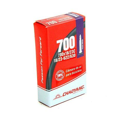 Câmara 700x18/23 Válvula Presta 60mm - Chaoyang