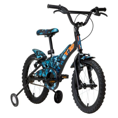 Bicicleta Infantil Groove T16 Azul Camuflado