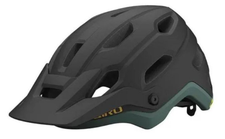 Capacete Giro Source Mips Preto Com Verde (tam: M, G)