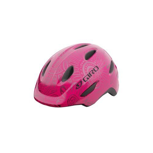 Capacete Giro Scamp Rosa Pérola (tam: PP 45-49)