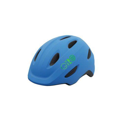 Capacete Giro Scamp Azul e Lima (tam: PP 45-49)