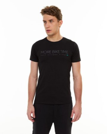 Camiseta More Bike Time Adulto & Grom - Sense