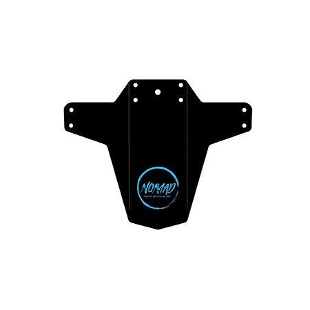 Paralama MTB Universal Dianteiro Preto e Azul - Nomad