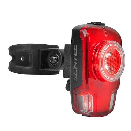 Vista Light Traseira 5 Funções 50 Lúmens USB - Sentec