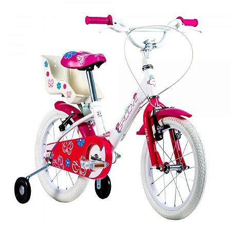 Bicicleta Infantil Groove My Bike Aro 16 - 2021 Branca