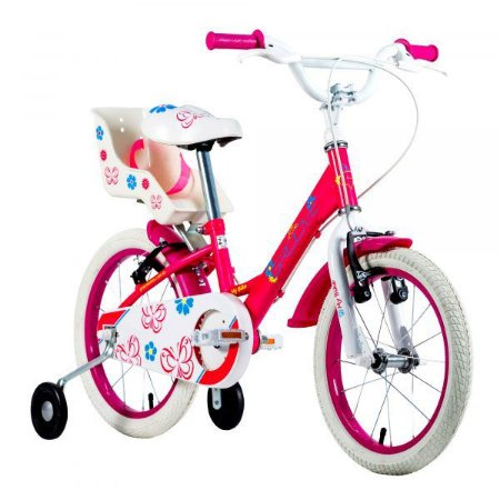 Bicicleta Infantil Groove My Bike Aro 16 - 2021 Rosa